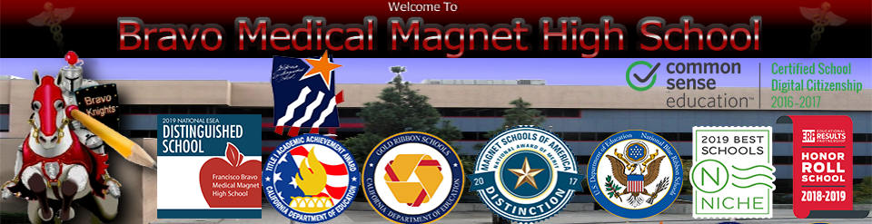 Francisco Bravo Medical Magnet High School  Logo